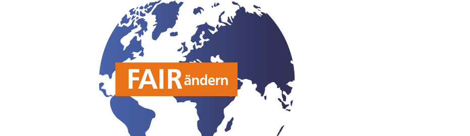 """Die Welt """"FAIRändern"""" mit dem VR-GewinnSparen"""